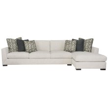 Nicolette Sectional in Mocha (751)