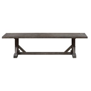 Emerald Home Paladin Dining Bench Rustic Charcoal D350-36