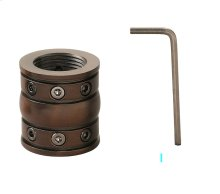 Downrod Coupler Oil Brushed Bronze