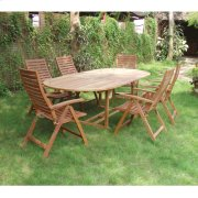 Oval Extension Table Product Image