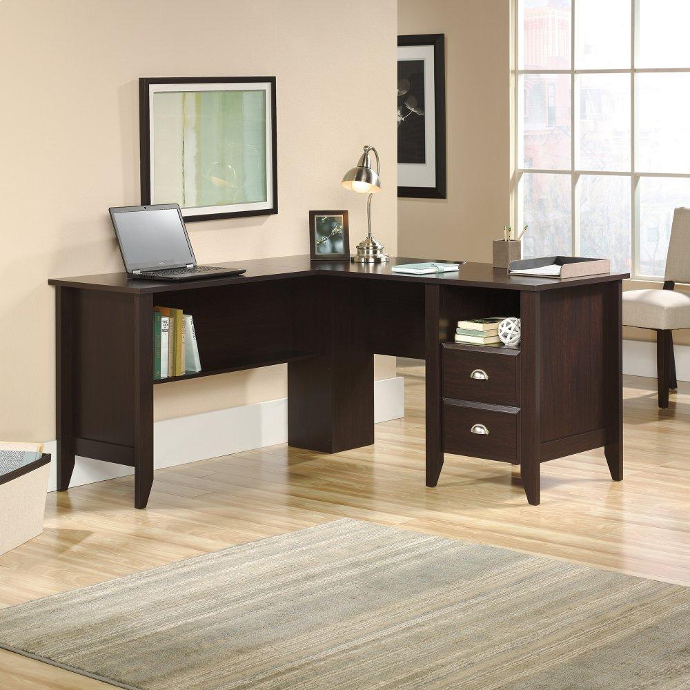 422191sauder l shaped desk westco home furnishings rh westcohomefurnishings com sauder l shaped desk cherry sauder l-shaped desk in salt oak