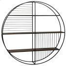 Metal & Wood Wall Shelf  36in X 36in Product Image