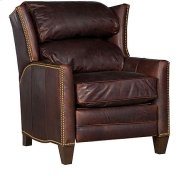 Santorini Leather Recliner Product Image