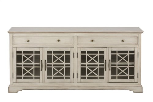 Craftsman Antique Cream Media Unit