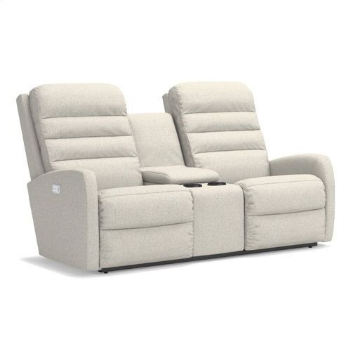 Forum PowerReclineXRw Full Reclining Loveseat w/ Console