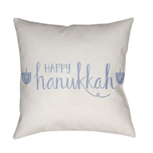 "Happy Hannukah HDY-029 18"" x 18"""