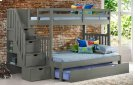 Cambridge Bunk With Staircase With Trundle Product Image