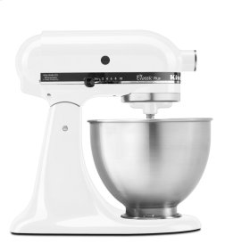 Classic Plus Series 4.5 Quart Tilt-Head Stand Mixer - White