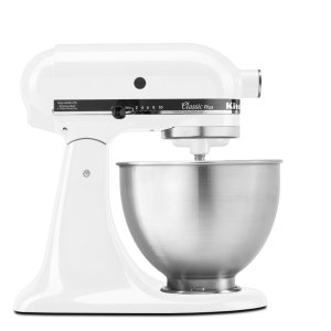 KitchenaidClassic Plus™ Series 4.5 Quart Tilt-Head Stand Mixer - White