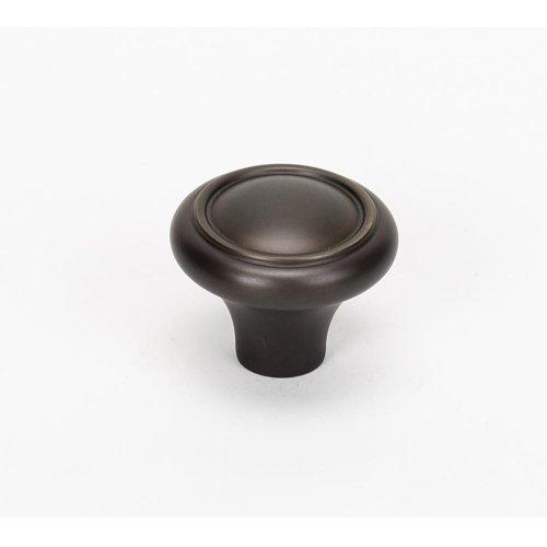 Classic Traditional Knob A1561 - Chocolate Bronze