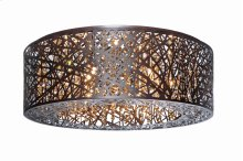 Inca 9-Light Flush Mount