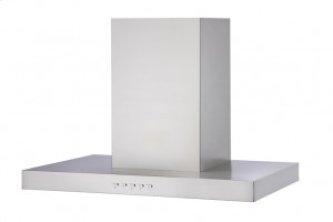 "30"" stainless steel T-Shaped wall-mount range hood"