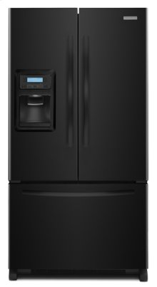 Black KitchenAid® 20 Cu. Ft. Counter-Depth French Door Refrigerator, Architect® Series II