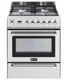 "Stainless Steel 30"" Self-Cleaning Dual Fuel Range with Warming Drawer Product Image"