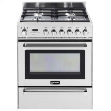 """Stainless Steel 30"""" Self-Cleaning Dual Fuel Range with Warming Drawer***FLOOR MODEL CLOSEOUT PRICING***"""