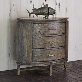 Azalea Chest - Antique Blue