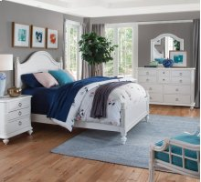 Wood Heights Bedroom Set