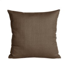 """16"""" x 16"""" Pillow Sterling Chocolate"""