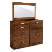 """Dovetail Bureau Mirror, Dovetail Bureau Mirror, 48 3/4""""w Product Image"""