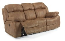 Como Fabric Power Reclining Sofa