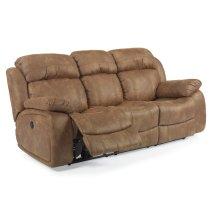 Como Fabric Power Reclining Sofa
