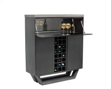 Langley Wine Cabinet - Grey