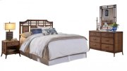 Palm Island 4 PC Queen Bedroom Set Product Image