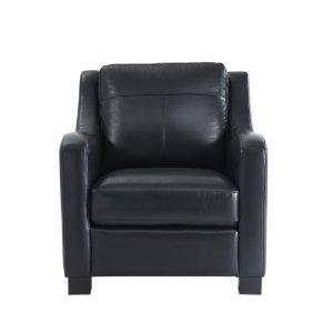 Leather Italia Usa 2052 Presley Chair L201k Black