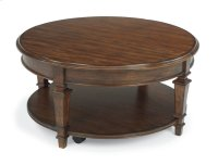 Oakbrook Round Lift-Top Coffee Table Product Image