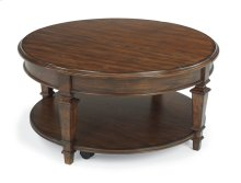 Oakbrook Round Lift-Top Coffee Table