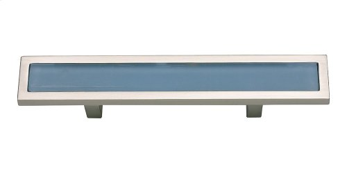Spa Blue Pull 3 Inch (c-c) - Brushed Nickel
