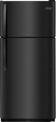 Crosley Top Mount Refrigerator - Black Product Image
