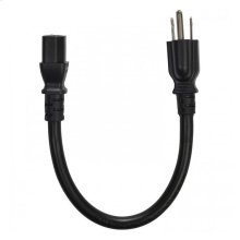 15 amp 1' IEC cable