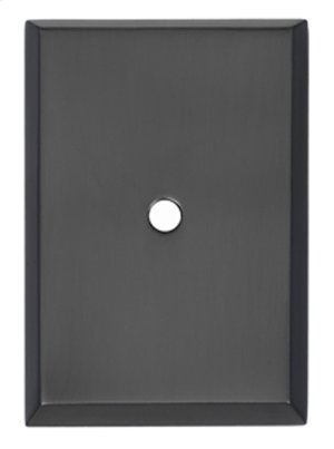 Traditional Backplate A610-45 - Matte Black Product Image