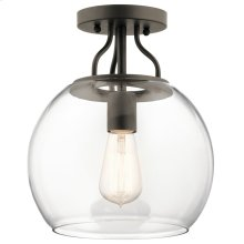 Harmony Collection Harmony 1 Light Semi Flush OZ