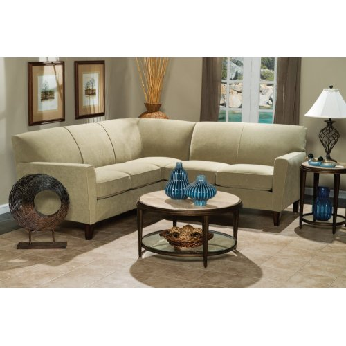 Digby Leather Sectional