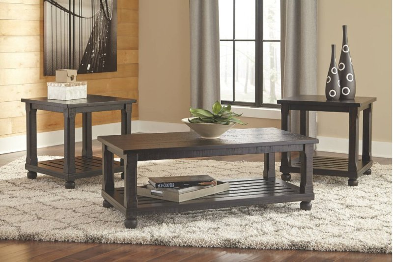 t14513 inashley furniture in orange, ca - occasional table set