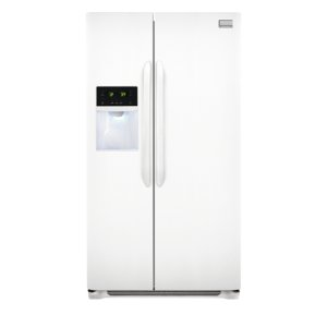 Gallery 25.6 Cu. Ft. Side-by-Side Refrigerator - PEARL WHITE