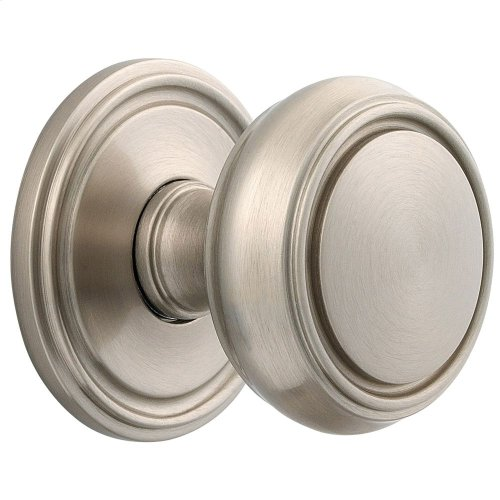 Satin Nickel with Lifetime Finish 5068 Estate Knob