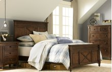 Big Sur by Wendy Bellissimo Highland Panel Bed Full