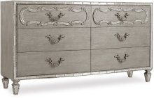 Sanctuary Six-Drawer Dresser