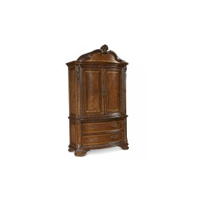 Old World Armoire Set
