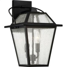 Black Ridge Outdoor Lantern in null