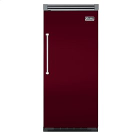 "Burgundy 36"" Quiet Cool™ All Refrigerator - VIRB Tru-Flush™ (Right Hinge Door)"