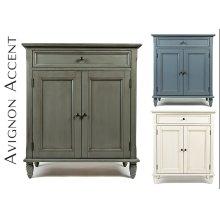 Avignon Ivory Accent Cabinet