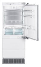 "30"" Combined refrigerator-freezer with BioFresh and NoFrost for integrated use Product Image"