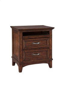 Star Valley Two Drawer Nightstand