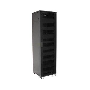 """Sanus85"""" Tall AV Rack 44U Component rack for home theater equipment"""