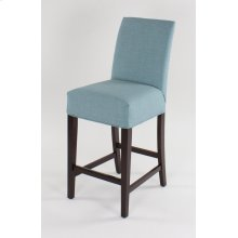 "Straight top barstool. 30"" barstools have a seat height of 30"" when measured"