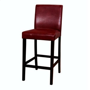 A AmericaLow Back Parson Stool 30 Ht-Rd